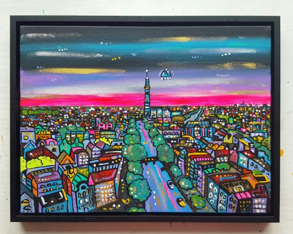 Amsterdam in a parallel dimension , Commission